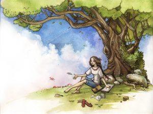 сказка про девочку которая любила рисовать