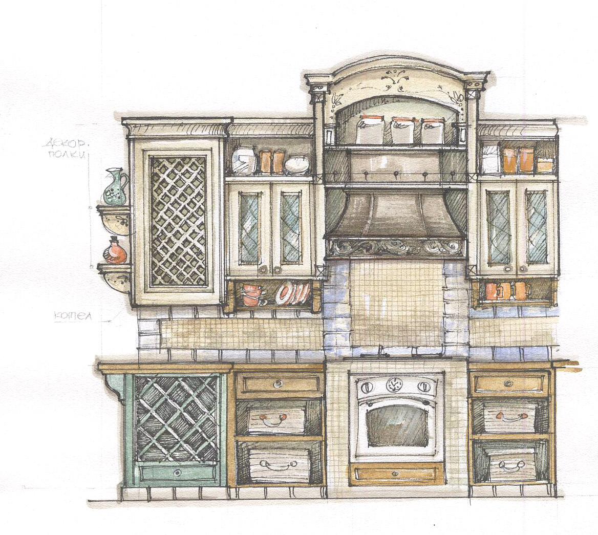 Симферополь кухня прованс дизайн