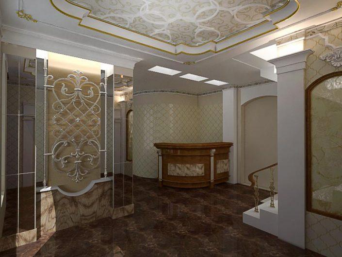 дизайн интерьеров Алушта Алушта гостиница холл