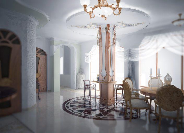 дизайнер интерьера апартаменты Алушта модерн